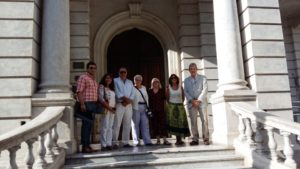 UNLu and CBS partners during a visit to the municipality of Lujan