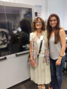 Prof. Silvia Martinelli and Dra. Anna Crespi